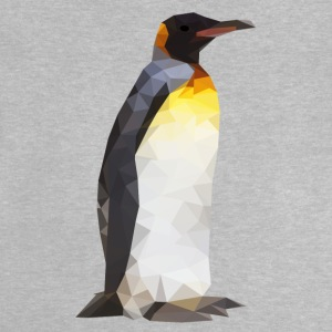 Low Poly Pinguin - Baby T-Shirt