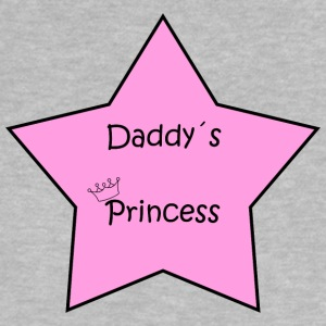Pappa Princess Star - Baby-T-shirt