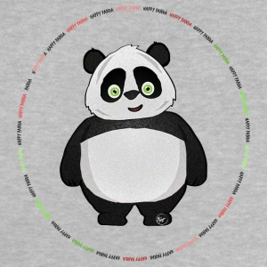 Happy Panda badge - Baby-T-skjorte