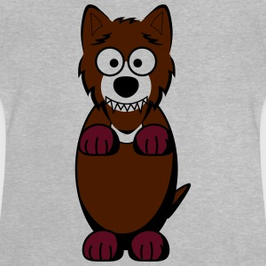 wolf in braun - Baby T-Shirt