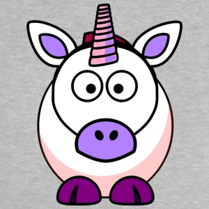söt Unicorn - Baby-T-shirt