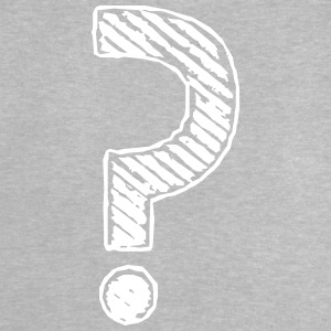 Question marks strip grunge look - Baby T-Shirt