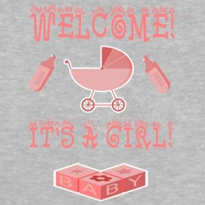 WELCOME GIRL - Baby T-Shirt