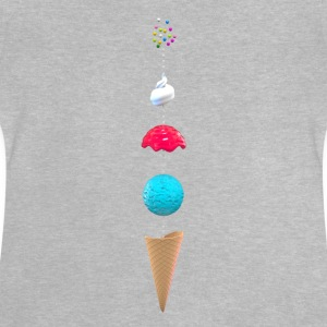 Josz DESIGN - Ice Cream - Baby-T-shirt