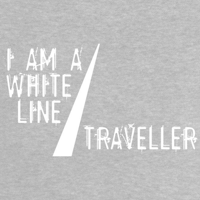i am a white line traveller