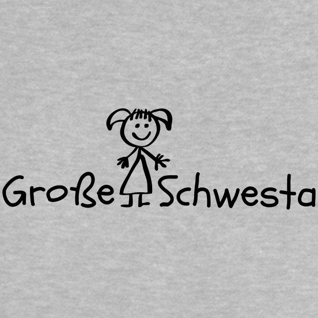 Vorschau: Grosse Schwesta - Baby T-Shirt