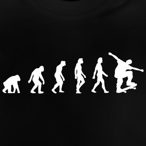 Die Evolution des Skateboards - Baby T-Shirt