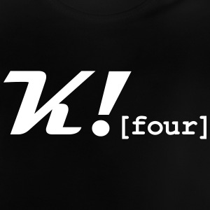 K_Four_Merch - Baby-T-shirt