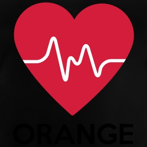 heart Orange - Baby T-Shirt
