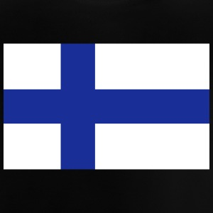 Finlands nationalflagga - Baby-T-shirt
