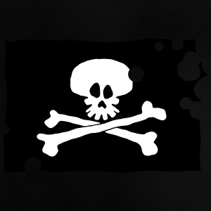 Pirate Flag - Baby-T-shirt