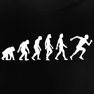 The Evolution Of Running - Baby T-Shirt