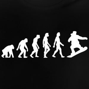 The Evolution Of Snowboarding - Baby T-Shirt