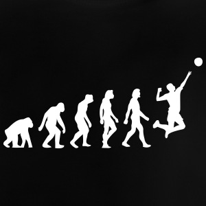 Evolutionen av volleyboll - Baby-T-shirt