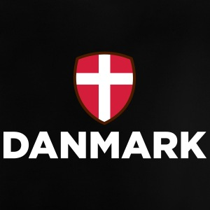 Danmarks nationale flag - Baby T-shirt