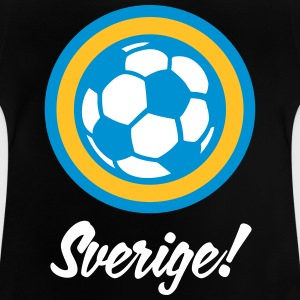 Sverige Football Emblem - Baby T-shirt