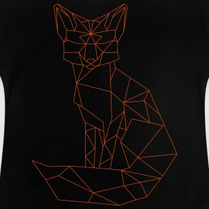 t-shirt med Fox - Baby-T-shirt