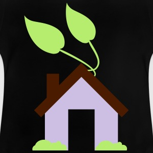 Green House Icon - Baby T-shirt