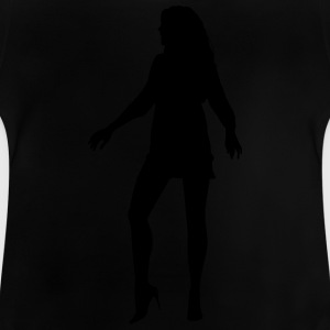 Woman body Silhouette vector design - Baby T-Shirt