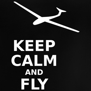 Keep calm and fly - Baby T-Shirt