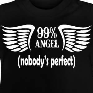 99% ängel - Baby-T-shirt