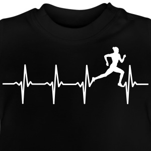 Your heart beats for's running? - Baby T-Shirt