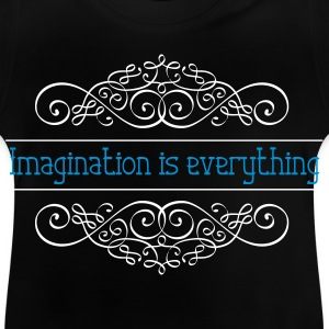 Imagination is alles - Baby T-shirt