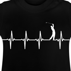 Your heart beats for golf? - Baby T-Shirt