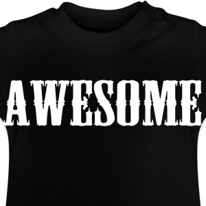 Awesome logo - Baby T-Shirt