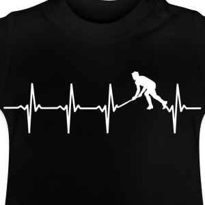 Your heart beats for hockey? - Baby T-Shirt