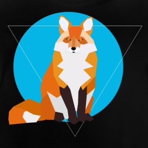 Geometric Fox - Baby T-Shirt