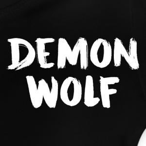 DemonWolf Tekst Logo - Baby T-shirt