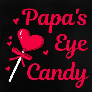 Papa's eye candy - Baby T-shirt