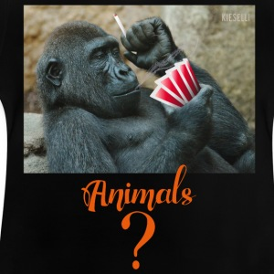 animals? Gorilla - Baby T-Shirt