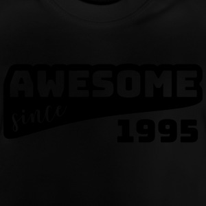 Awesome siden 1995 / Fødselsdag-Shirt - Baby T-shirt