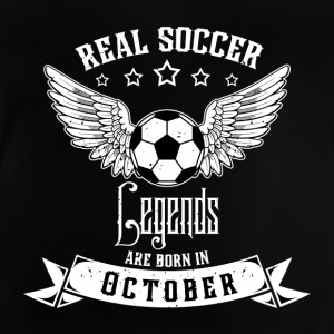Soccer Legends! Birthday Geburtstag! Oktober - Baby T-Shirt