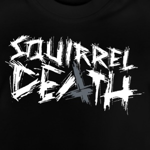 SQUIRREL DEATH - Original Logo - Baby T-Shirt