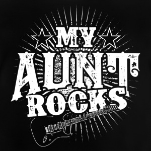 My aunt is rocking! Aunt! Birth - gift - Baby T-Shirt