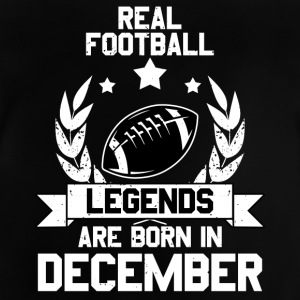 Football Legends! Birthday Geburtstag! Dezember - Baby T-Shirt