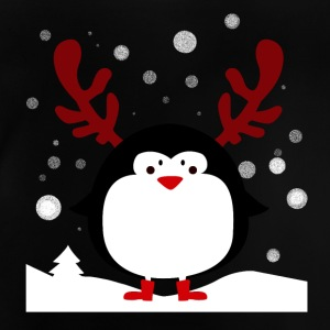 Christmas Penguin 3 - Baby T-Shirt