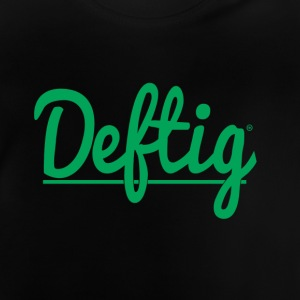 Deftig_underline_green - T-shirt Bébé