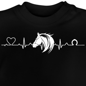 Heartline horse - Baby T-Shirt