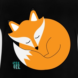 Fox And Tea _ ræv sleepyhead - Baby T-shirt