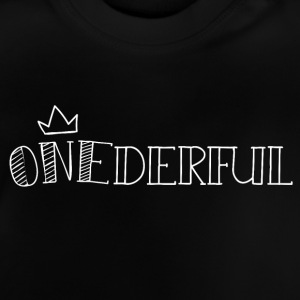 onederful - Baby-T-shirt