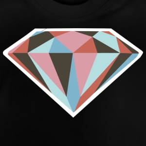 diamant - T-shirt Bébé