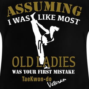 Tae Kwon Do Ladies Veteran - Baby T-Shirt
