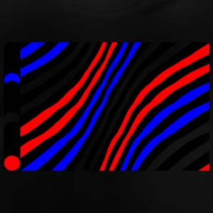 Geometry / colored / Strip - Baby T-Shirt