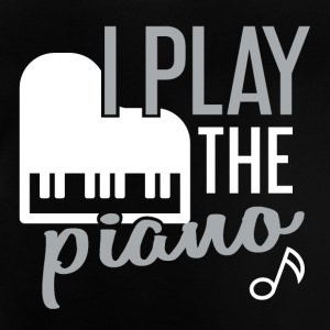 I play piano - Baby T-Shirt