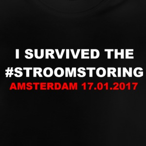 I SURVIVED THE #STROOMSTORING - Baby T-shirt