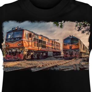 locomotives Thai - T-shirt Bébé